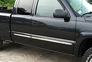 Pack of 14 Putco 9751204 Stainless Steel Rocker Panel for Chevrolet Silverado,