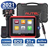 Autel MaxiCOM MK906BT Automotive Scanner, New Version of Maxisys MS906BT/MS908/MK908, OBD2 Scan Tool with ECU Coding, All System Diagnostics, Bi-Directional Control, 31+ Services (2021 Newest)