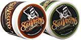 Suavecito Duo Bundle. Original Hold (4 ounce) and Matte Pomade (4 ounce) Variations. Strong Hold Styling Hair Pomades for Men.