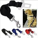 Haustier Hunde Auto Sicherheitsgurt Anschnallgurt Anschnaller Verstellbar Schwar - 3