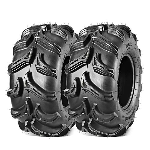 Maxauto 28x11x12 ATV Tires AT 28x11-12 28x11R12 Radial UTV/ATV Tires 6PR Mud Sand Rocky All Terrain Tires(Set of 2)