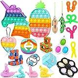 Fescuty Fidget Toys Pack Set Pop Fidgets Toy Sets Packs, Fidget Toys Pack Stress...