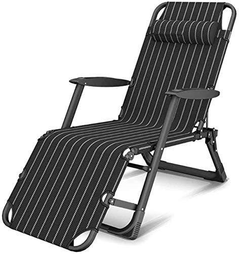 YUYANDE Sillones, sillas de Cacahuetes Ajustables, sillones Plegables, reclinables al Aire Libre, Conjunto de Playa, Piscina y Patio, Silla Fuerte de Carga de Carga, sillas de Patio (Color : B)