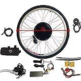 WUPYI2018 - Kit di conversione per bici elettrica, 36 V, 800 W, 28 pollici, per bicicletta...