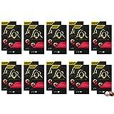 L'Or Café Espresso Splendente - Intensidad 7 - 200 Cápsulas de aluminio compatibles con cafeteras Nespresso®* - 20 Unidades