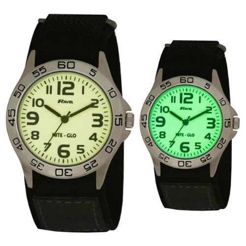 Ravel - Boy's 'Nite Glo' Wrist Watch R1703.1