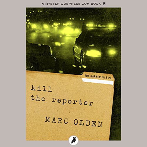 Kill the Reporter audiobook cover art