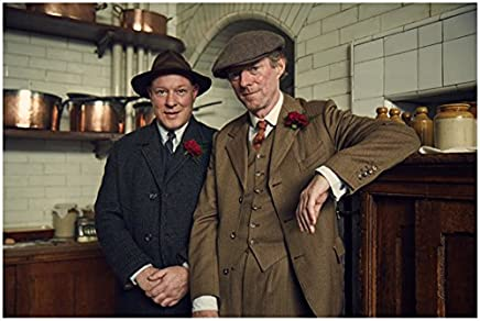 4574c3f1ca8ea Peaky Blinders Ian Peck as Curly and Ned Dennedy as Charlie Strong Smiling  8 x 10