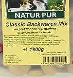 Classic Dog Backwaren-Mix im Eimer, 1er Pack (1 x 1.8 kg) - 4
