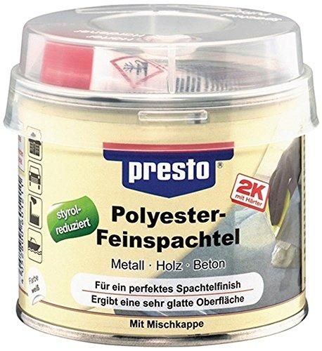 Feinspachtel 2K-Polyester-Feinspachtel weiß, 250 g, 1 Stück