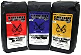 World's Strongest Coffee - Turbo Charged Coffee - Ground Coffee… (Race Pack, (3) 16oz Bags)