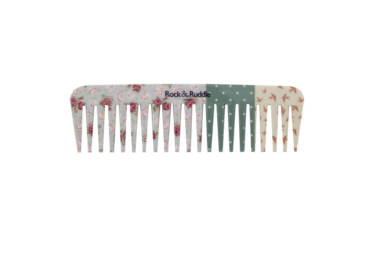 Popular brand Rock Ruddle Wide Tooth Comb. Perfect Detangling Wet a Hair Nippon regular agency for