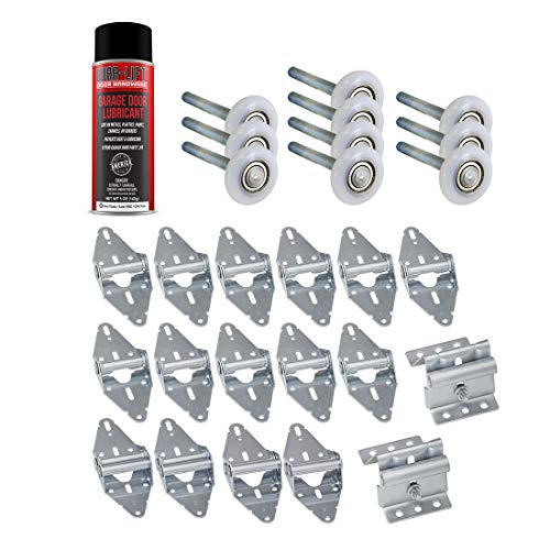 Garage Door Lube/Roller/Hinge/Bracket Tune Up/Service Kit (for 16' x 7' Doors)
