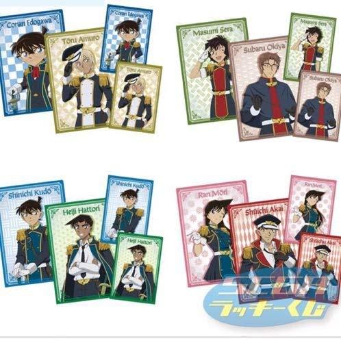 セブンイレブン 1番くじ 非売品 E賞 クリアファイル&ポストカード 4セット 名探偵コナン