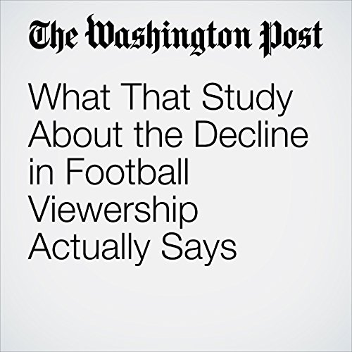 What That Study About the Decline in Football Viewership Actually Says copertina