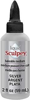 Polyform Liquid Sculpey, 2 oz, Silver
