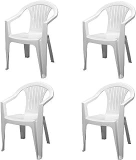 Sedie In Plastica Da Giardino Prezzi.Amazon It Sedie Plastica Giardino E Giardinaggio