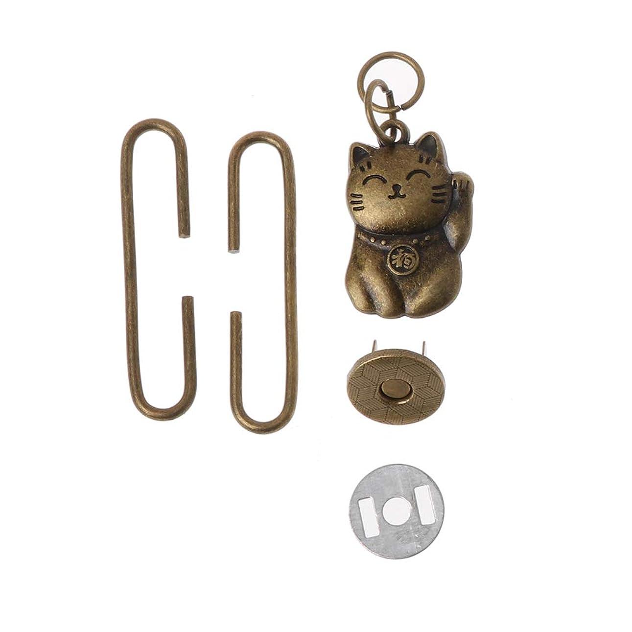 モッキンバード純粋な周術期SimpleLife財布フレームバッグ留め金磁気スナップDIYクラフトアクセサリー、5 cm