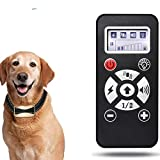 lovely home 【2020 New Versions】 Dog Training Collar with Remote Control Rechargeable and Waterproof Dog Shock Collar with Beep, Vibration and Shock Dog Collar for Small, Medium and Large Dogs