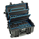 B&W International Jumbo 6700 Outdoor Tool Case with Pocket Tool Boards, Black...