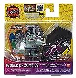 World of Zombies Zombies-44274 Pack de Dos Zapan Sumo Wrestler y Figura Sorpresa (Bandai 44274), Multicolor