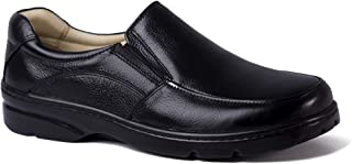d340c6410 Sapato Masculino 5300 em Couro Floater Preto Doctor Shoes
