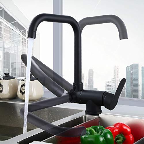 Hef0『キッチン水栓台所蛇口冷熱混合栓』