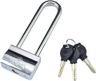 Tumecos Padlock Chain Lock Heavy Duty U Lock Padlock with 7.1