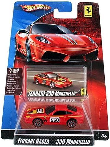 Hot Wheels Die-Cast Ferrari Racer 550 Maranello