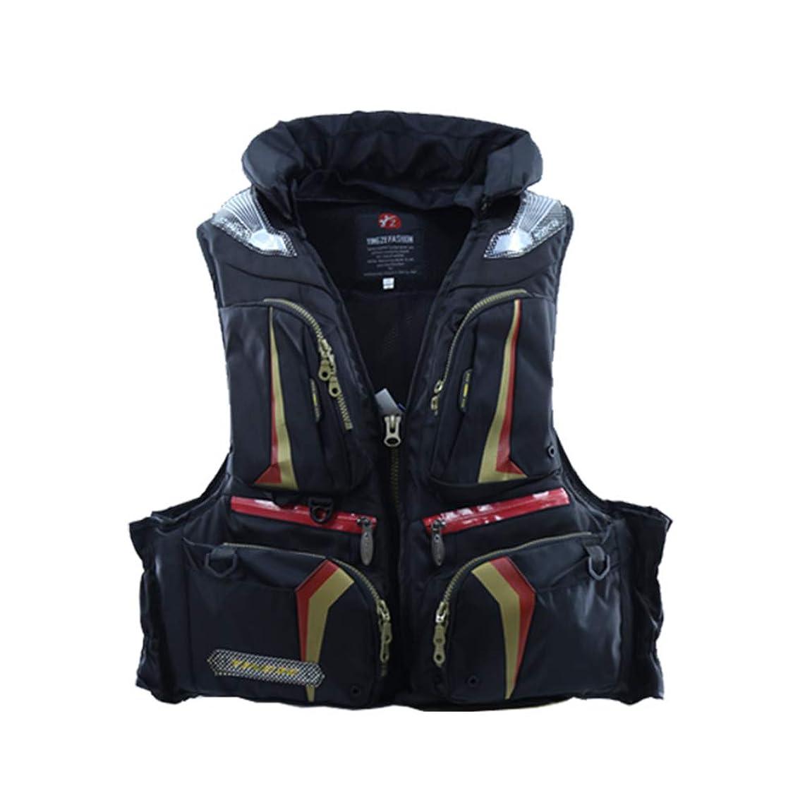アグネスグレイ内なるサーカスAIRFRIC フィッシングベスト フローティングベスト 枕つき 男女兼用 ライフジャケット ウィンドストッパー救命胴衣 19FTB