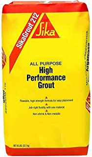 Sika 90824 05255se Cement/Structural Grout, 50 Lb, Gray