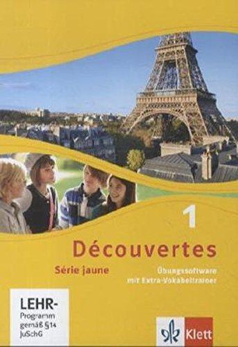 Découvertes 1. Série jaune: Übungssoftware mit Vokabeltrainer, Einzellizenz 1. Lernjahr: Srie jaune (ab Klasse 6) (Découvertes. Série jaune (ab Klasse 6). Ausgabe ab 2012)