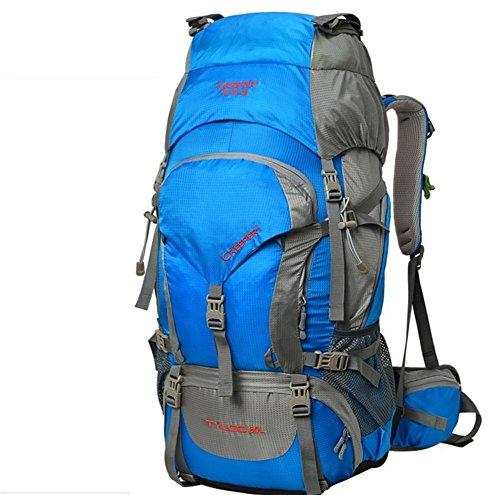 Plein air sac à dos de randonnée sac imperméable à l'eau de grande capacité camping sac à dos bandoulière hommes et femmes voyagent sac à dos sac à dos Trek