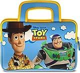 """Pebble Gear Toy Story 4 Carry Bag - Bolsa Universal de Neopreno para niños en Pixar Toy Story 4-Design, para tabletas de 7 """"(Fire 7 Kids Edition, Fire HD 8 Case), Cremallera Duradera, Woody y Buzz"""