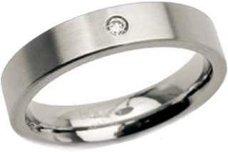 boccia 女式戒指钛银0121–04