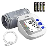 Anfly Blood Pressure Cuffs for Home Use - Blood Pressure Monitor Upper Arm 15.8' XL Large Cuff Backlit Display - Batteries & USB Cord Included