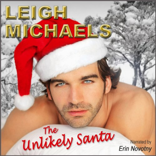 The Unlikely Santa audiobook cover art