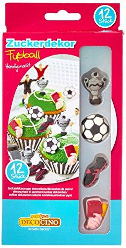 Dekoback 32411 Zuckerdekor Fußball