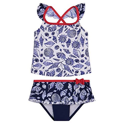 Tommy Bahama Girls' 2-Piece Bikini Swimsuit Bathing Suit