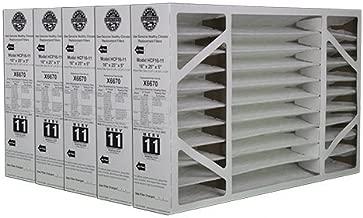 Lennox Healthy Climate 16x25x5 X6670 MERV 11 Filter-Actual Size 15 3/4