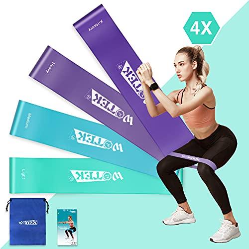 cintas elasticas fitness resistencia Marca WOTEK