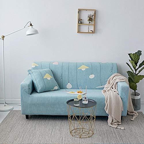 Funda Sofa Elastica Protector Adaptable,Funda de sofá elástica con patrón impreso, funda de cojín universal para todas las estaciones, funda de sillón antiincrustante para sala de estar, funda de pro