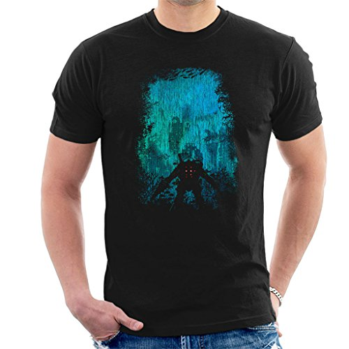Bioshock Big Daddy Discovering Rapture Men's T-Shirt