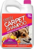 Best Carpet Shampoos - Cleenly Pet Carpet Shampoo Cleaner Solution (5 litres) Review