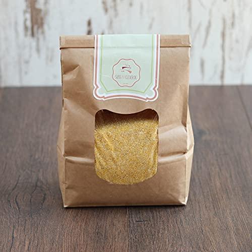 süssundclever.de® Bio Maisgrieß | Polenta | 2,0 kg | aus Österreich | plastikfrei und ökologisch-nachhaltig abgepackt