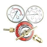 Welding Gas Welder Acetylene Regulator CGA 510 Inlet 0-400 PSI Outlet 0-30 PSI