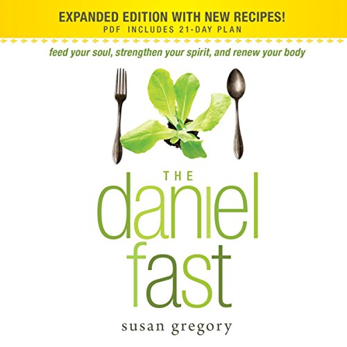 The Daniel Fast audiobook cover art