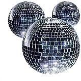 Kit 5bolas espejo diámetro 50mm Club Party Bola Discoteca Efecto especial años 70