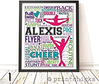 personalized cheer gifts