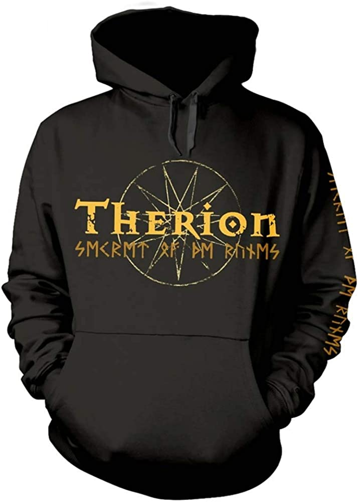 Therion Men's Max 86% OFF Max 48% OFF Secret of The Black Ruins Hooded Sweatshirt